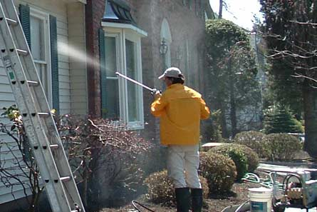 Power washing does not require potable water