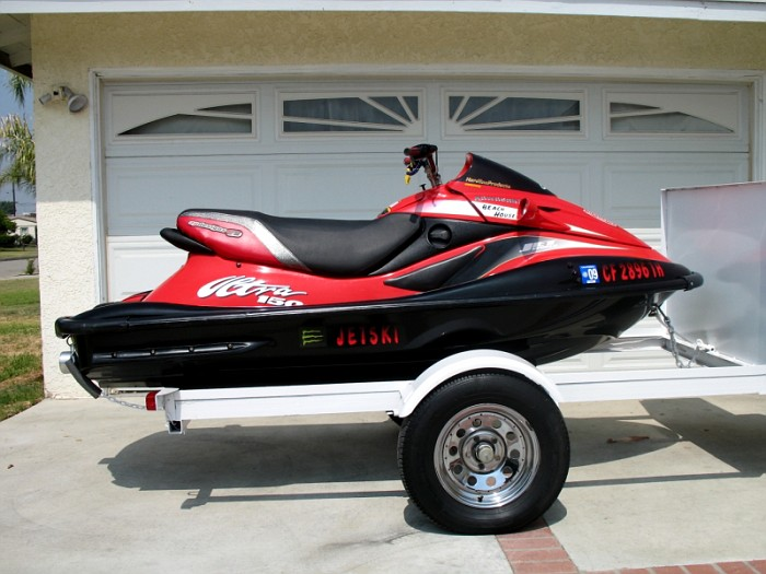 jet-ski in the drive way may negatively  impact home security