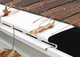 Vinyl gutter guards