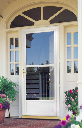 Storm doors dress up any home