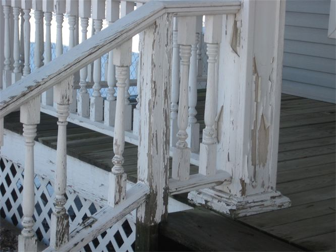 old handrails