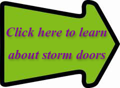 storm door arrow