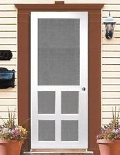 Genial Vinyl Screen Door 1