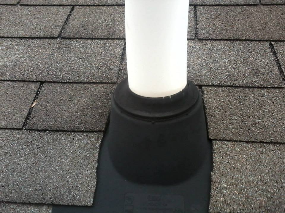 splits in vent pipe boot