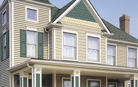 types of siding on house