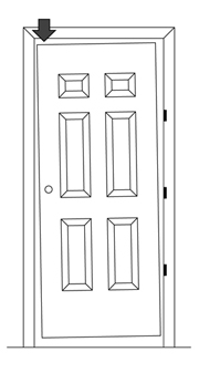 How To Fix A Sagging Door >> Sagging Door Adjustment And Repair Whms Blogwood S Home