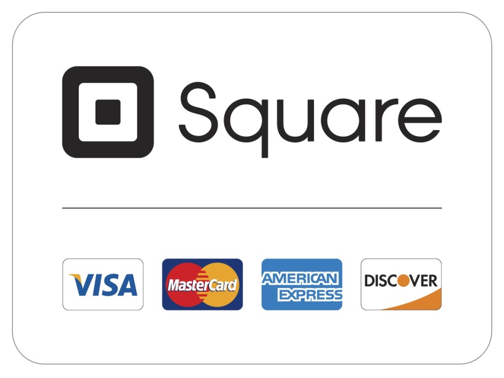 Square credit card logo