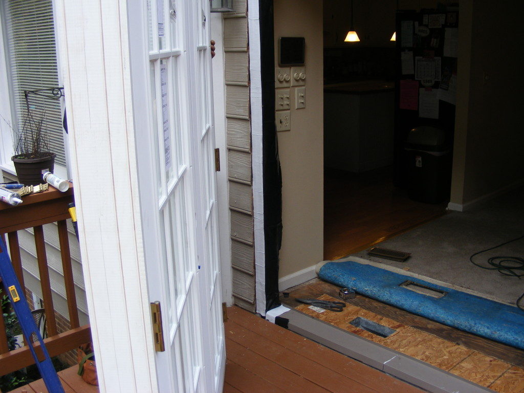 exterior door replacement